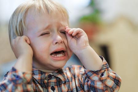 cranky baby cries