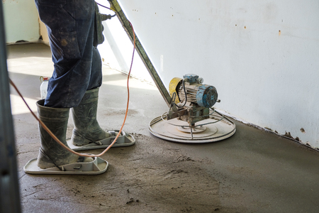 grinding of concrete floor