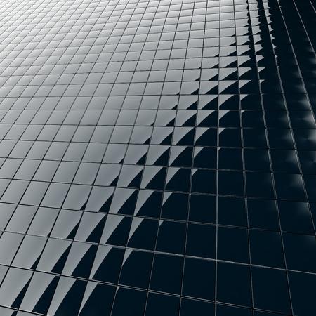 검은 색 플라스틱에서 현대 건축 자재에서 추상적 인 배경