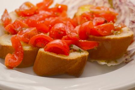 bruschetta: appetizer italian bruschetta