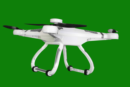 domestic policy: drone isolated Stock Photo