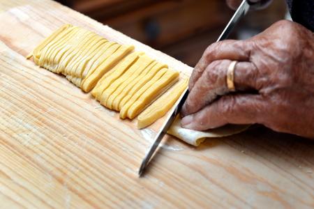 pasta: Chef Maestro italiano pasta casera