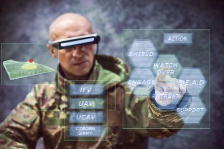 cyber warfare: cyber army soldier