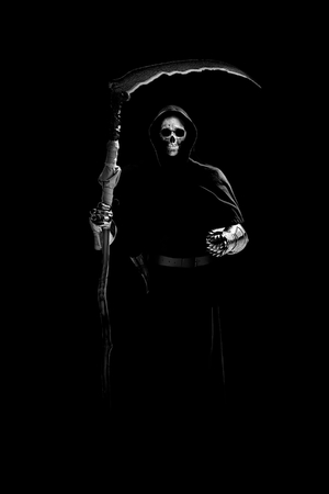 horror apocalypse grim reaper knight on judgment day