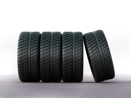 racing tires for all seasons and bad weather Stock Photo - 128506413