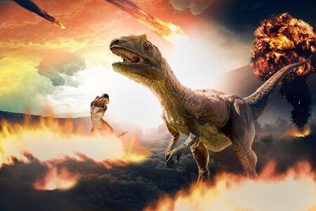 extinción de dinosaurios debido al asteroide