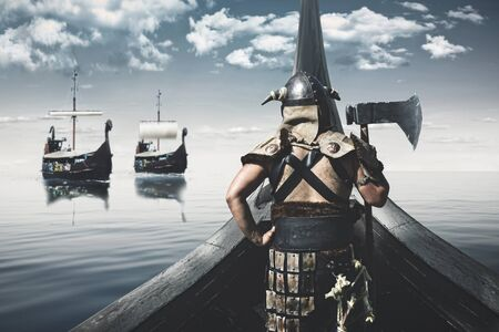viking king warrior