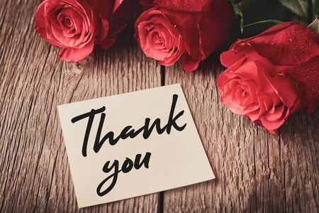 Thank-you note with