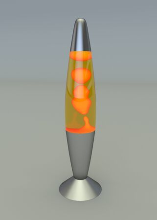 Lava lamp Stock Photo