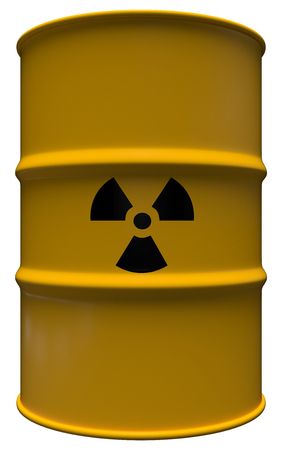 Radioactive material Stockfoto