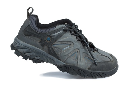 sport shoe: Sport shoe on white background Stock Photo