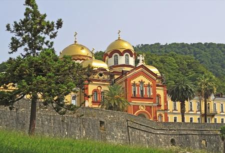 abkhazia: New Aphon orthodox monastery, Abkhazia