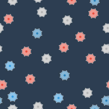 abstract flowers: Abstract flowers pattern Illustration
