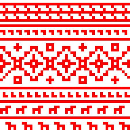 ロシアのシームレスなパターン