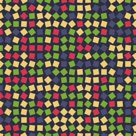 rotated: Rotated squares seamless colorful patterns. Abstract background.
