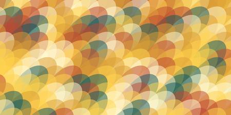 Ellipse vector pattern. Colorful background.