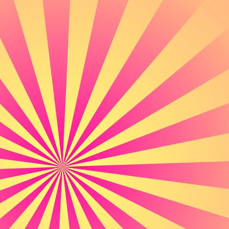 Sun Sunburst Pattern. Vector illustration. Illustration