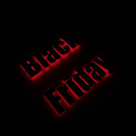 Black Friday. Vector banner for shops, web