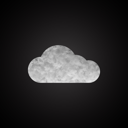 Cloud background for your business. Vector illustration.