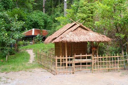 wooden hut: Thai style wooden hut