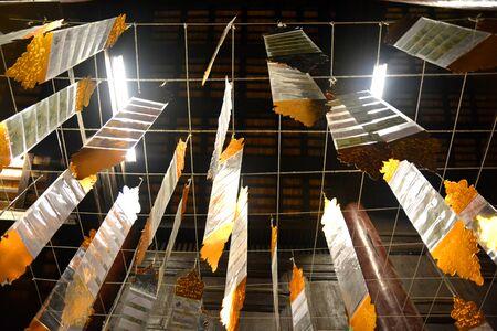 lanna: Tung flag of Lanna at north of Thailand