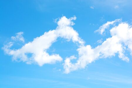 blue sky with cloud Foto de archivo - 149583391