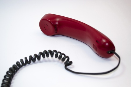 Telephone on hold Stok Fotoğraf
