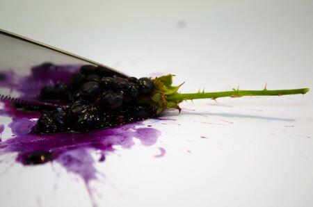 snijden blackberry