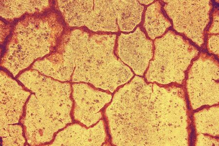 Background image of a concrete wall with cracks. Imagens