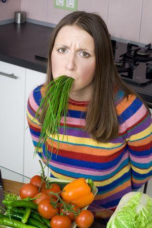 fooman TRED z dietą i warzyw Zdjęcie Seryjne