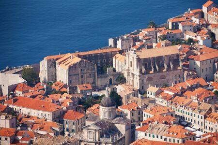 bird 's eye view: Dubrovnik  Old City, bird