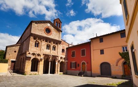 antiquary: Abbazia di San Zeno church and square in