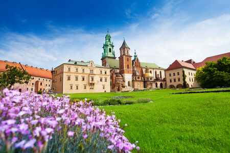 Royal Archcathedral Basilica of Saints Stanislaus and Wenceslaus on the Wawel Hill  in Wawel Royal Castle