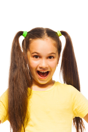 yellow shirt: Little girl in yellow shirt