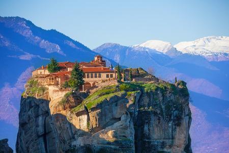 monasteri: Monastero Monte della Santissima Trinità Archivio Fotografico
