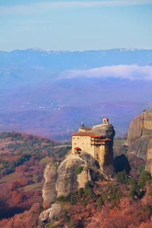 monastery nature: Monastery of St. Nicholas Anapausas landscape