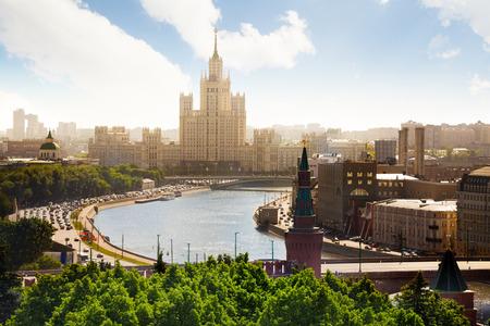 kotelnicheskaya embankment: Beautiful view on Kotelnicheskaya embankment
