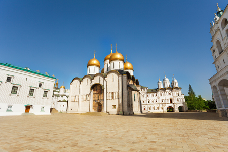 assumption: Assumption Cathedral in Moscow Kremlin, Russia