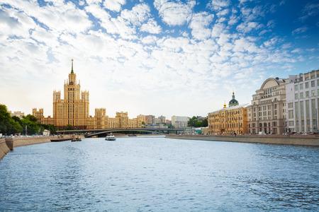 kotelnicheskaya embankment: Kotelnicheskaya embankment on Moscow river