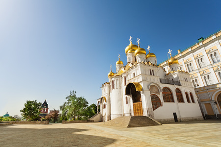 annunciation: View from below of Annunciation Cathedral Stock Photo