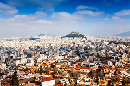 アテネ、ギリシャのパノラマ