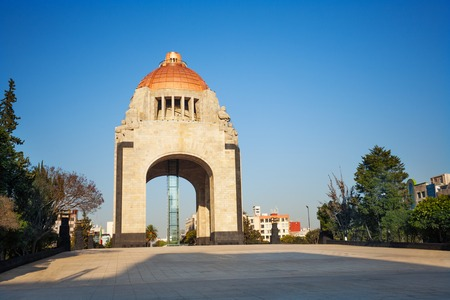 Monument do centra města Revolution, Mexiko
