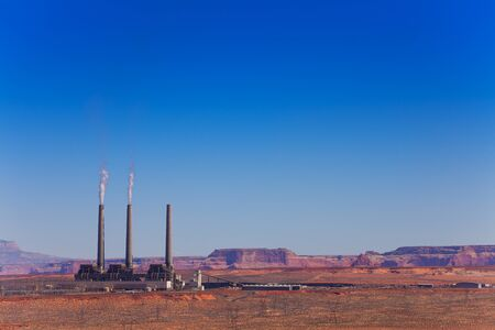 generating station: Salt River Project-Navajo Generating Station power plant , AZ, USA