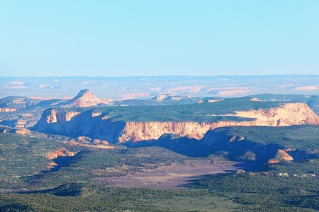 Panoramic view of Bryce Canyon in the sun, Utah