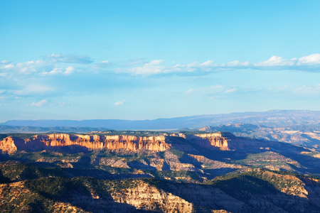 Beautiful view of Bryce Canyon in the sun, USA Stock Photo