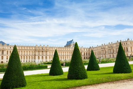 Beautiful landscape of Versailles Gardens, Paris