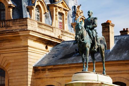 Monument à Henri d'Orléans, le duc d'Aumale Banque d'images - 88392238