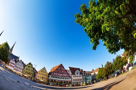Market Square Marktplatz in Esslingen, Germany