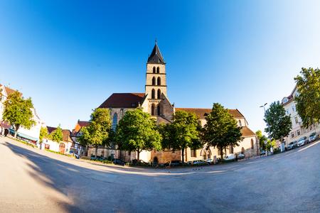 St. Dionysius church at market square of Esslingen