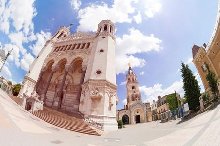 Basilica of Notre-Dame de Fourviere main entry